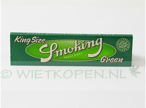 Smoking Green vloei