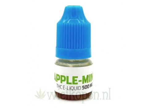THC E-liquid Apple-Mint