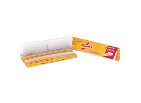 Flamez King Size Slim vloei-Joint tips & vloeipapier